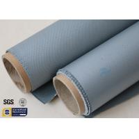 Buy cheap Grey 31OZ Silicone Coated Fiberglass Fabric Industrial Heat Resistant Blanket from wholesalers