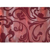 Quality Funky 100% Polyester Velvet Fabric Contemporary Upholstery Fabric for sale