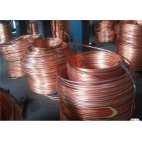 Quality High Purity Single Crystal Red Copper Rods For Electric Wire 8 - 300 mm for sale