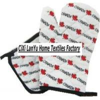 Quality Printed Oven Glove and Pot Holder (LYOM) for sale
