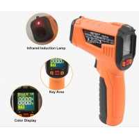 Quality 2020 The Most Popular High precision digital laser infrared thermometer with LCD for industrial and domestic use for sale