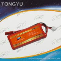Quality RTR RC Boat Rechargeable LiPo Battery Pack 11.1V 1050mAh 20C Rate for sale