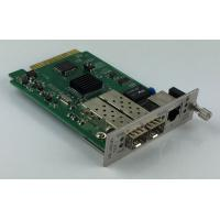 Quality Remote Management 10G Media Converter  With 1 + 1 Fiber Optical Protection for sale