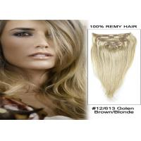 Quality Straight Human Hair Thick Remy Human Hair Extensions 14 to 24 Inches for sale