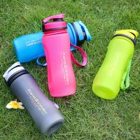Quality 600mL/20oz  Outdoor  Sports  Drinks Bottle BPA free Water Bottle Customized Logo frosted matte surface Factory Wholesale for sale
