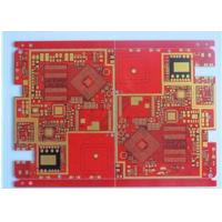Buy Red Solder Mask Prototype High Density Interconnect HDI PCB High TG Material 20 at wholesale prices