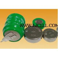 China 3.6V 80mah Ni-MH Rechargeable battery pack on sale