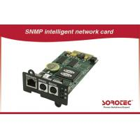 Quality SNMP card UPS Accessories benefit for automatization and network management for sale