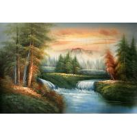 Quality frame painting fashion landscape wall art for sale