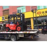 China 3 Stage Manual Forklift Truck , 4 Wheel Forklift Heavy Duty Driving Axle on sale