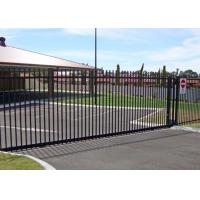 Quality Residential Automatic Sliding Gates For Driveways Hot Dipped Galvanized Treatment for sale