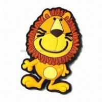 Quality 3-D fridge magnet, made of safe PVC rubber, OEM orders are welcome for sale