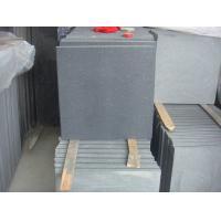 China Chinese Hainan black basalt tile,black basalt flooring tile for sale