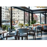Quality Fabric Upholstery Commercial Restaurant Furniture , Modern Restaurant Furniture for sale