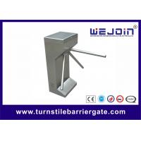 Quality Comapct safety mechanical Tripod Turnstile Gate / electric Waist height Turnstile for sale
