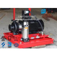 Quality 3 M³/H Fire Fighting Jockey Pump Stainless Steel With 100-220PSI Head for sale