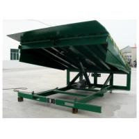 Quality Powder Coated Surface Loading Dock Leveler 5001kg - 10000 kg Capacity To Move Goods for sale