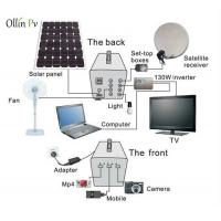 Quality 60W Residential Portable Solar Panel Charger , Solar Lighting System For Home for sale