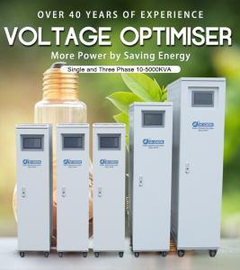 Quality Voltage Optimiser Voltage Optimisation Power Energy Saver Industrial Indoor for sale