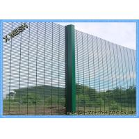 Quality 358 anti climb seccurity fencing with great price with CE Certificate / 2000mm width security garden pvc coated used 358 for sale
