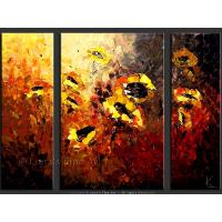 Quality flower painting modern flower art painting for sale
