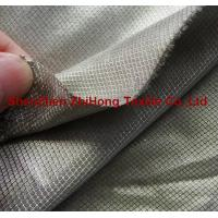 Quality Non-Toxic Electromagnetic-shielding silver-plated diamond lattice fabric for sale