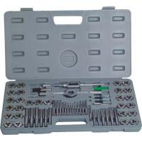 Quality High Efficient Metal Working Tools 60Pcs Metric Taps And Dies Set Screw Tap and Threading Die for sale
