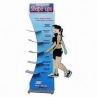 Quality Shoes Floor Display Stand, Customized Designs are Welcome for sale