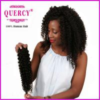 Quality 100% unprocessed virgin human hair, Malaysian virgin curly hair Weave for sale