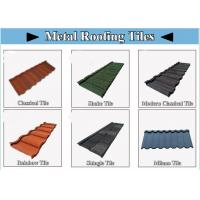 Buy cheap House Aluminum Roof Tiles , Aluminium Zinc Roofing Sheets Galvalume steel sheet 0.40mm from wholesalers