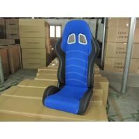 Buy Cloth Fabric Material Sport Racing Seats Fully Reclinable / Auto Car Seats at wholesale prices
