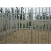 Quality Hot Dipped Galvanized Metal Palisade Fencing For Garden Decoration , 2.75m Height for sale