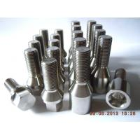 China Titanium gr1, 2, 4, 5, 7, 9 of Technique Rolled threads, CNC machining for medical dental screw on sale