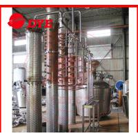 Quality 500Gal Miniature Commercial Distillery Equipment 3mm Thickness for sale