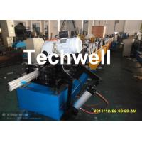 Quality 120mm Diameter Roller Shutter Forming Machine With Hydraulic Cutting TW-RSD85 for sale