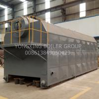 Quality Eco - Friendly Coal Fired Hot Water Boiler Horizontal Type For Paper / Textile Factory for sale
