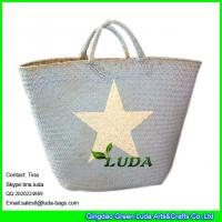 Quality LUDA Summer Straw Bags Seagrass Straw Handbags for sale