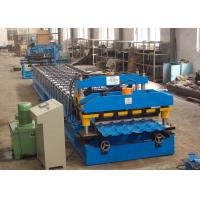Buy cheap Metal Roof Roll Forming Machine , Color Steel Corrugated Roofing Sheet Making Machine from wholesalers