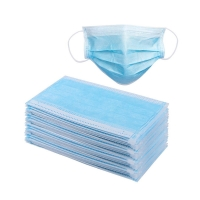 China ISO9001 Melt Blown Nonwoven Earloop Face Mask on sale