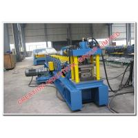 Quality Galvanized Iron Rolling Shutter Panel Making Machine with Hydraulic Auto Cutter for sale