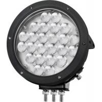 Quality Black Cree 10000 lumen 9 Inch Offroad LED Driving Lights , Round 120W LED Work Light for sale