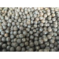 Quality Grade 45 60Mn B2 Forged Steel Ball 20mm - 110mm For Grinding Mine / Ore for sale