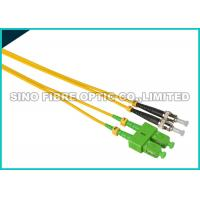 Quality FC - LC Fiber Jumper Cables , Multimode Duplex Fiber Optic Cable 1310nm Wavelength for sale