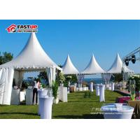 Buy High Peak Pagoda Festival Party Tent 5X5M PVC Fabric Cover Elegant Design at wholesale prices