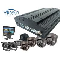 Quality Standalone 4G video HDD 8CH MDVR / AHD Mobile DVR 720P Car DVR with free CMS software for sale