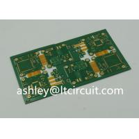 Quality 4 Layer FR4 Polymide Rigid Flexible PCB IC Controller Gold Plating for sale