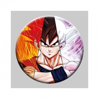 Buy cheap Round 5x5cm 3D Flip Lenticular Anime Pins With Goku from wholesalers