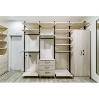 Quality New Metal Plate Wardrobe Step-in Cloakroom Fashion Melamine cabinet panel for sale