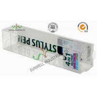 Quality Electronics Ballpoint Plastic Packaging Boxes , Clear Plastic Display Boxes for sale