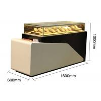 Buy Lighted Jewelry Display Case , Large Wooden Display Plith In White Lacquer at wholesale prices